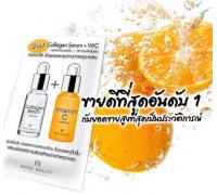 Коллагеновая сыворотка для лица с витамином С 2in1 Collagen Serum + Vit С