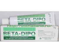 Крем Beta-Dipo для лечения аллергии и воспалений кожи