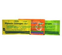 Пастилки Mybacin Lozenges – быстрое избавление от боли в горле