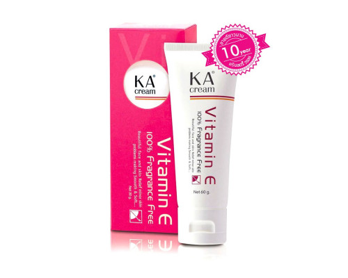 Крем с витамином Е против старения кожи лица KA 60 гр