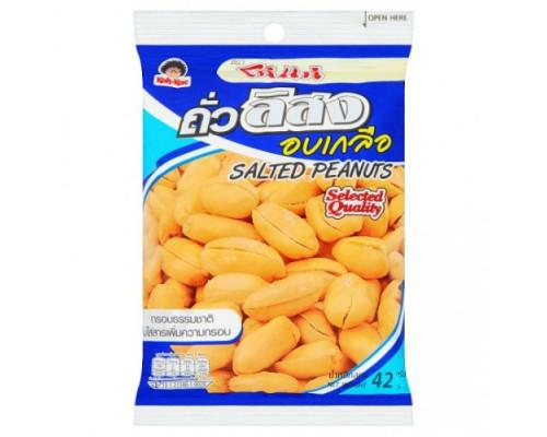 Арахис соленый, вкусные орешки Koh-Kae  42 гр