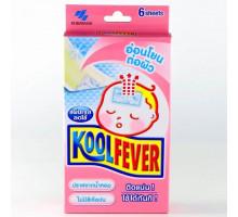 Пластырь для снижения температуры KoolFever для малышей, 1 шт.