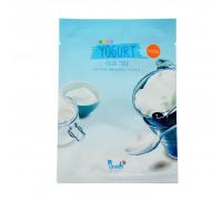 Тканевая маска для лица с йогуртом 38 гр