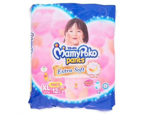 Детские подгузники-трусики для малышей весом 9-14 кг Baby Love DayPants 12 шт