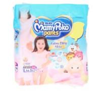 Детские подгузники-трусики для девочек L MamyPoko Pants 15 шт