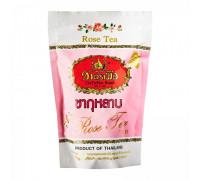 Тайский Розовый чай с лепестками Rose tea mix 150 гр