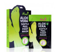 Отшелушивая маска для ног Алое Вера - носочки Foot Mask Moods 2 пары