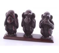 Статуэтка со смыслом «Три обезьяны»