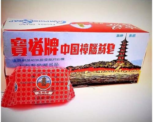 Камфорное мыло Pagoda Brand Soap 50 гр