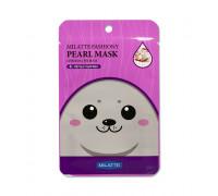 Тканевая маска для лица с жемчужной пудрой Milatte 1 шт
