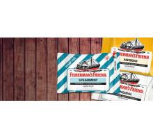 Ментоловые конфетки знаменитой марки Fisherman's Friends