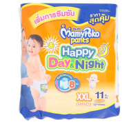 Детские подгузники-трусики День и Ночь размер XXL MamyPoko Pants 11 шт