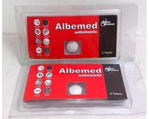Альбендазол 6 таблеток против паразитов