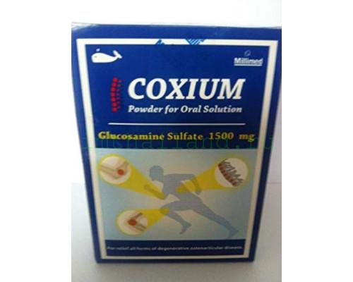 Глюкозамин в порошке для лечения суставов и позвоночника 1500 мг