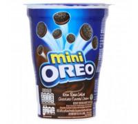 Шоколадное мини печенье – сэндвич Oreo с шоколадным кремом 67 грамм