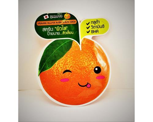 Маска-скраб для лица с апельсином Smooto 10 мл