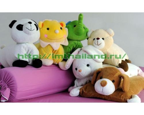 Детская подушка-игрушка из натурального латекса