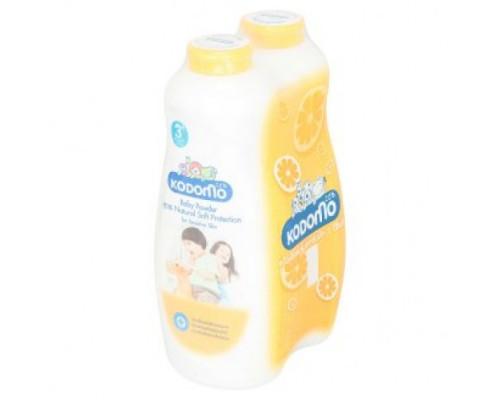 Детская присыпка Kodomo формула Естественная защита 2 бутылки по 500 грамм