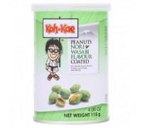 Жареный арахис с васаби и нори Koh-Kae 115 грамм