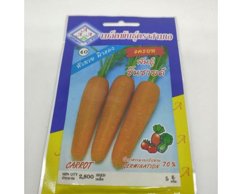 Тайские семена моркови 10 гр