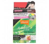 Безаммиачный оттеночный шампунь для волос Lolane цвет Темный шатен