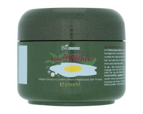 Лечебная маска для поврежденных волос с экстрактом морских водорослей 250мл