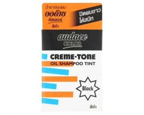 Крем-тинт для волос Audace цвет Натуральный черный