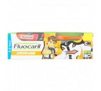 Зубная паста с апельсином для детей от 2 до 6 лет Fluocaril 65гр