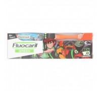 Детская зубная паста со вкусом кока-кола для детей старше 6 лет Fluocaril  65гр