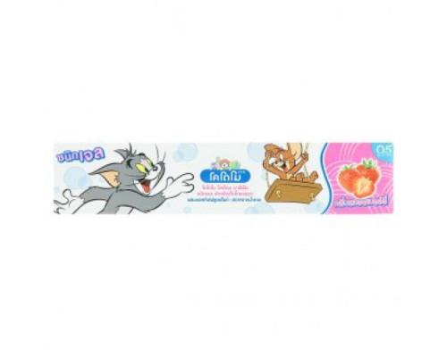 Гелевая зубная паста Kodomo для детей Клубника без сахара 40 грамм