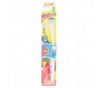 Детская зубная щетка Kodomo с тонкой щетинкой для детей 3-6 лет