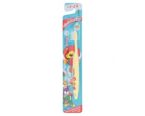Зубная щетка Kodomo для самых маленьких, возраст 1,5 - 3 года