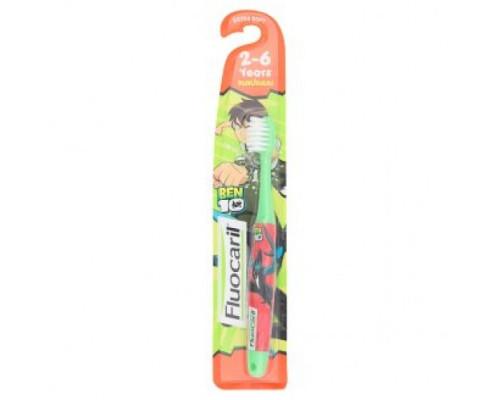 Зубная щетка Fluocaril для детей от 2 до 6 лет