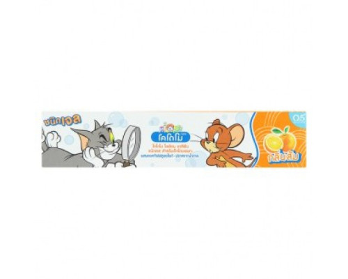 Гелевая зубная паста Kodomo для детей Апельсин без сахара 40 грамм