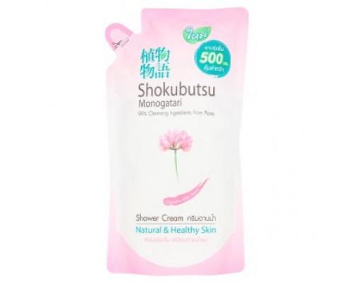 Крем-гель для душа Shokubutsu с Китайским Астрагалом 500 мл