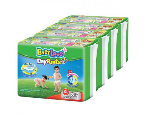 Подгузники-трусики для детей весом 12-17 кг размер L Baby Love DayPants 12 шт
