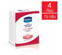 Активное питательное мыло бренда Vaseline 4 штуки 75 гр