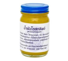 Тайский тигровый бальзам желтый Thai Herbal Balm 60 гр
