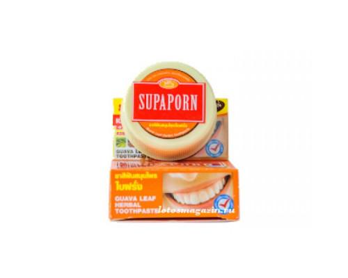 Тайская отбеливающая зубная паста Supaporn 25 гр