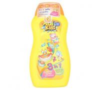 Тропический детский шампунь - кондиционер - гель для тела Три-в-Одном Mild Kids 200 мл