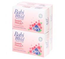 Детское мыло с маслом Ши Babi Mild 75 грамм 4 штуки