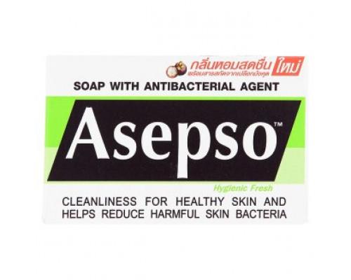 Антибактериальное освежающее мыло Asepso 80 грамм