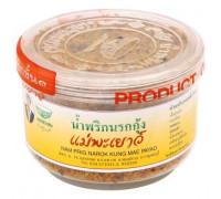 Креветочная паста с сушеными креветками Mae Payao 60 грамм
