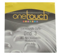 Презервативы One Touch ребристая поверхность 4 шт