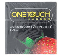 Презервативы One Touch клубничный вкус 3 шт