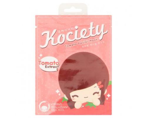 Освежающая томатная маска для лица с экстрактом помидорки Kociety 27 грамм