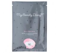 Маска для лица с черным жемчугом My Beauty Diary