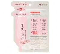 Тканевая маска для сияния и белизны кожи лица Корея Leaders Clinic