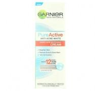 Отбеливающий крем для проблемной кожи лица против акне Garnier 20 мл