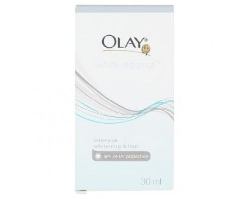 Интенсивный отбеливающий лосьон для лица Olay с защитой от солнца SPF24 30мл